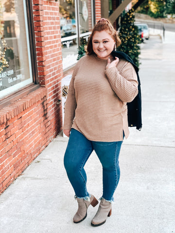Casual Mocha Sweater