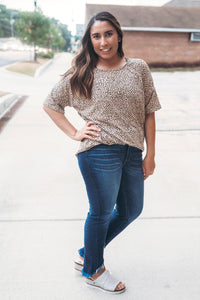 Buttery Soft Leopard Tunic Top