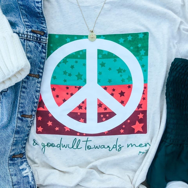 Peace & Goodwill Graphic