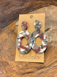 Bama Clay Earrings