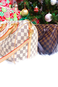 Stella Checkered Handbag - Pre-Sale