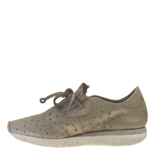 LUNAR in MID TAUPE, left view