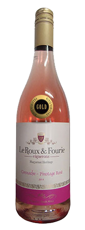 Grenache-Pinotage Rose 2014 GOLD MEDAL