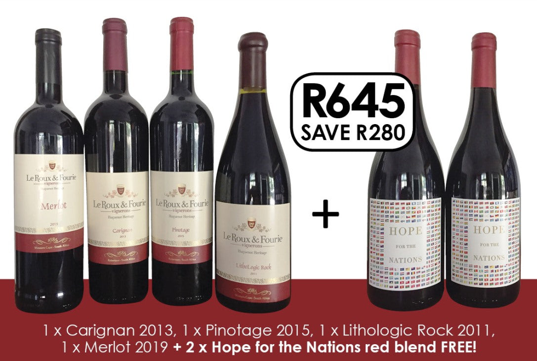 Red Selection - Buy 4, Get 2 bottles FREE!