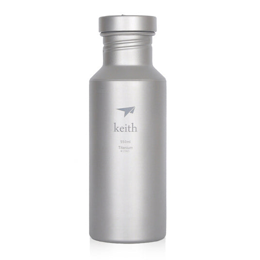 Keith Ti3031 Titanium Water Bottle Outdoor Sport Cycling Camping Hiking  550ml
