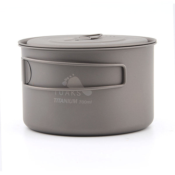 TOAKS POT-700-D115-L Ultralight Titanium Camping Pot Outdoor Cup /w Lid 700ml