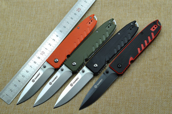 GANZO G746-1outdoor tool knife G10 Handle 440C Steel Folding Knife
