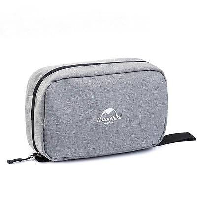 Naturehike NH15X001-S Multifunctional Wash Cosmetic Make Up Bag Hemp Gray