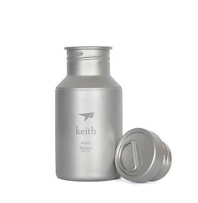 Keith Ti3030 Titanium Water Bottle Outdoor Sport Cycling Camping Hiking  400ml