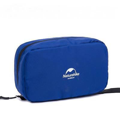 Naturehike NH15X001-S Wash Cosmetic Make Up Bag Hanging Waterproof Bag Blue