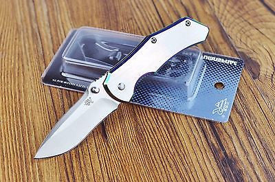 Sanrenmu 7030LUC-SCX Pocket  Folding Knife Frame Lock 100% Stainless Steel