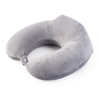 Naturehike NH15T089-Z Memory Foam Bamboo-Charcoal U-Shaped Pillow Travel Hiking