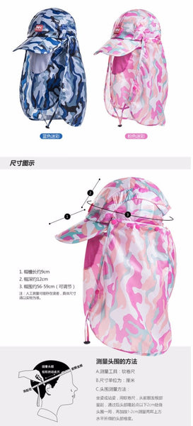 Naturehike Ultralight Folding Quick-Dry Cap Water Resistant UV-protection