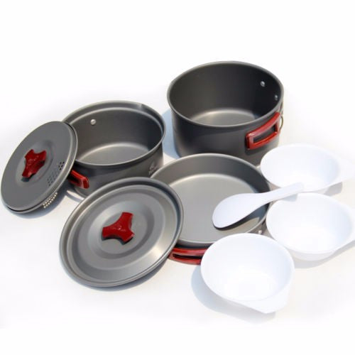 Fire Maple FWS-03 Outdoor 2-3 People Camping Boiler Bowl Pot Stove Picnic Cookware Set