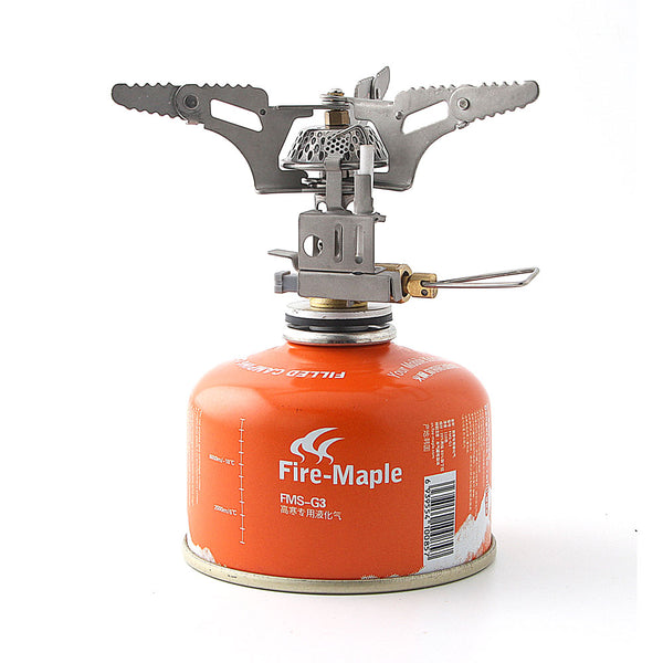 BRS-3 Mini Portable Collapsible Outdoor Fire Stove Gas Camping Fire Starter Ignition Stove Cookware only 102g
