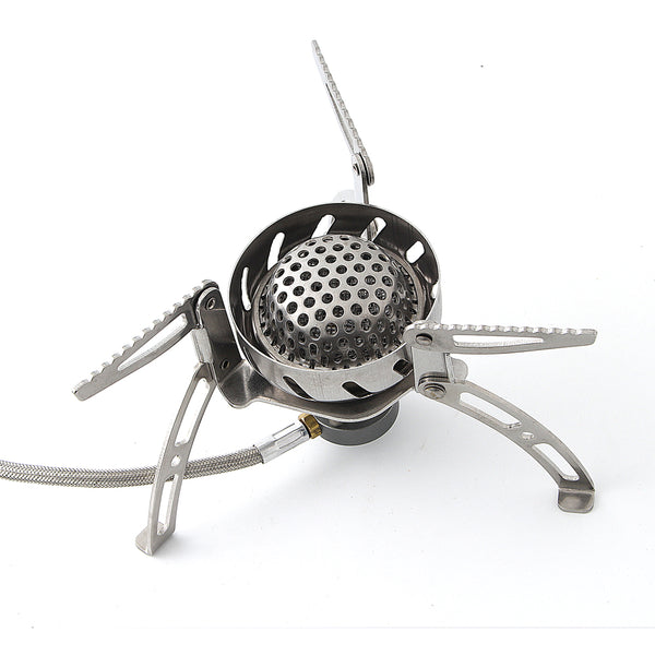 BRS-108 Quenching Stove Stainless Steel one-piece Stove Gas Stoves Outdoor Cooker for Survival Camping Hunting
