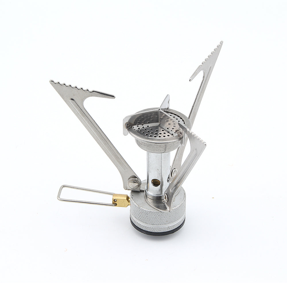 BRS-1 Stainless Steel Cooking Strong-Power 1.94KW Camping Gas Stove Picnic Cookout Butane Stove only 87g