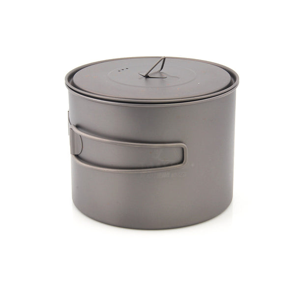 TOAKS POT-1300/POT-1300-BH Titanium Pot cup Outdoor Camping Pot with Lid 1300ml