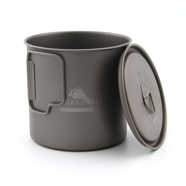 TOAKS 650ml Titanium Pot cup Outdoor Camping Bowl with Lid