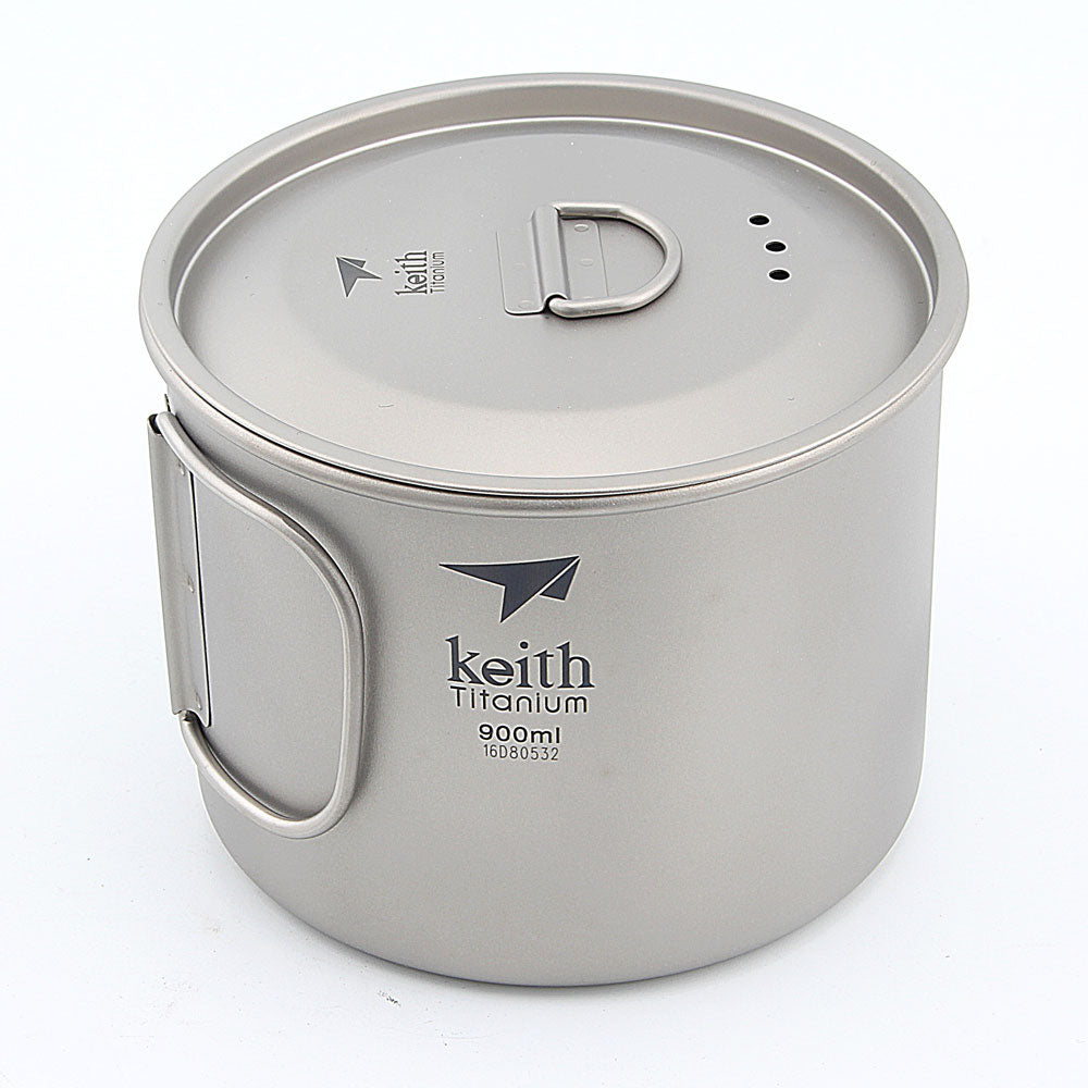 Keith Ti3209 Titanium Cup Ultralight Single Wall Vacuum Water Cup Camping tools