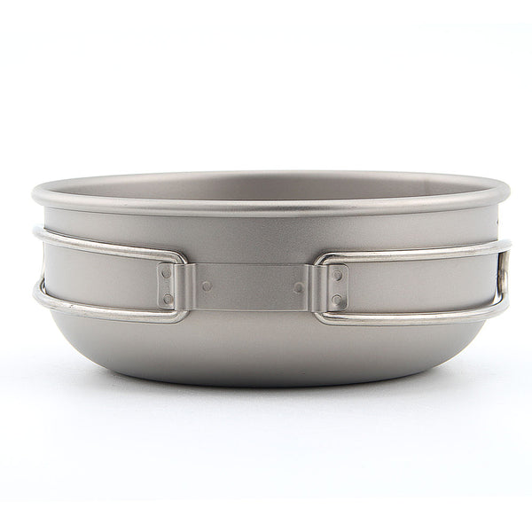 Keith Ti5324 Folding Titanium Bowl Camping Bowl Portable Outdoor Bowl