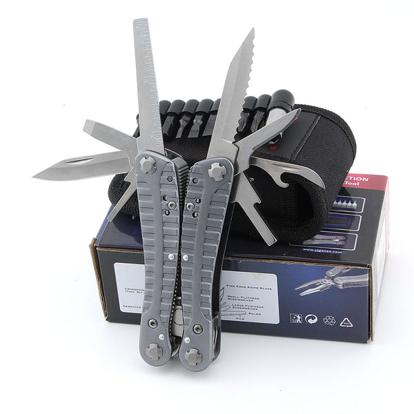 Ganzo G105 Multi Pliers Multi Tool Toolkit with Screwdriver Kit & Nylon Sheath