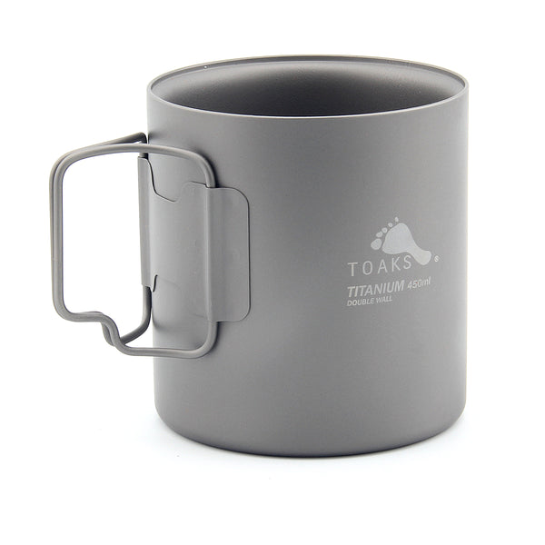 TOAKS CUP-450-DW Titanium 450ml Double Wall Cup