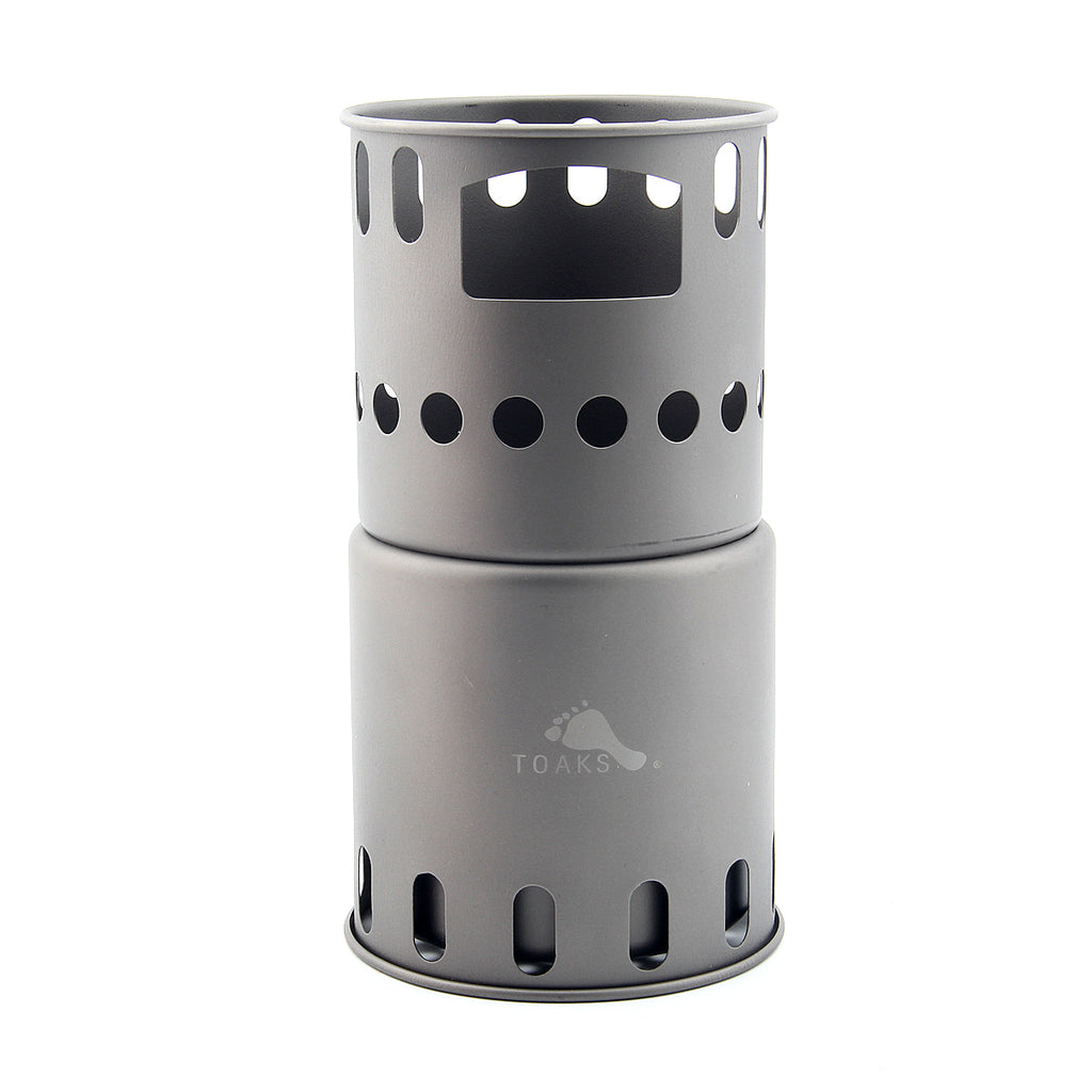 TOAKS STV-11 Titanium Backpacking Wood Burning Stove
