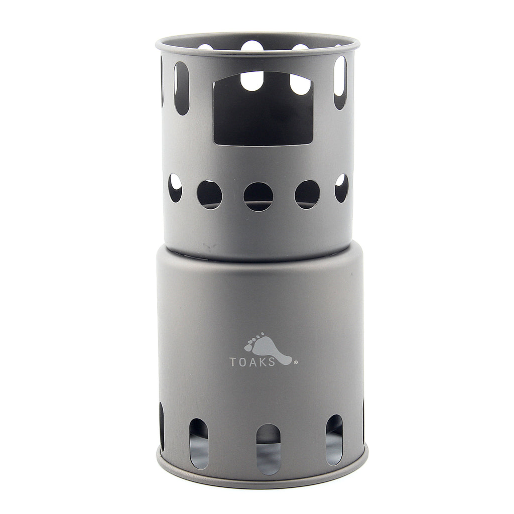 TOAKS STV-12 Titanium Camping Wood Stove Solo Use Award Winner