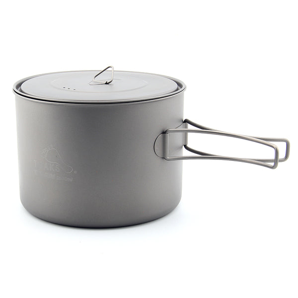 TOAKS POT-1600/POT-1600-BH Titanium Pot cup Outdoor Camping Pot with Lid 1600ml