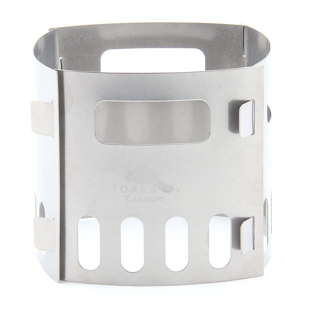 TOAKS FRM-02 Titanium Portable Alcohol Stove Pot Holder 4 tablets