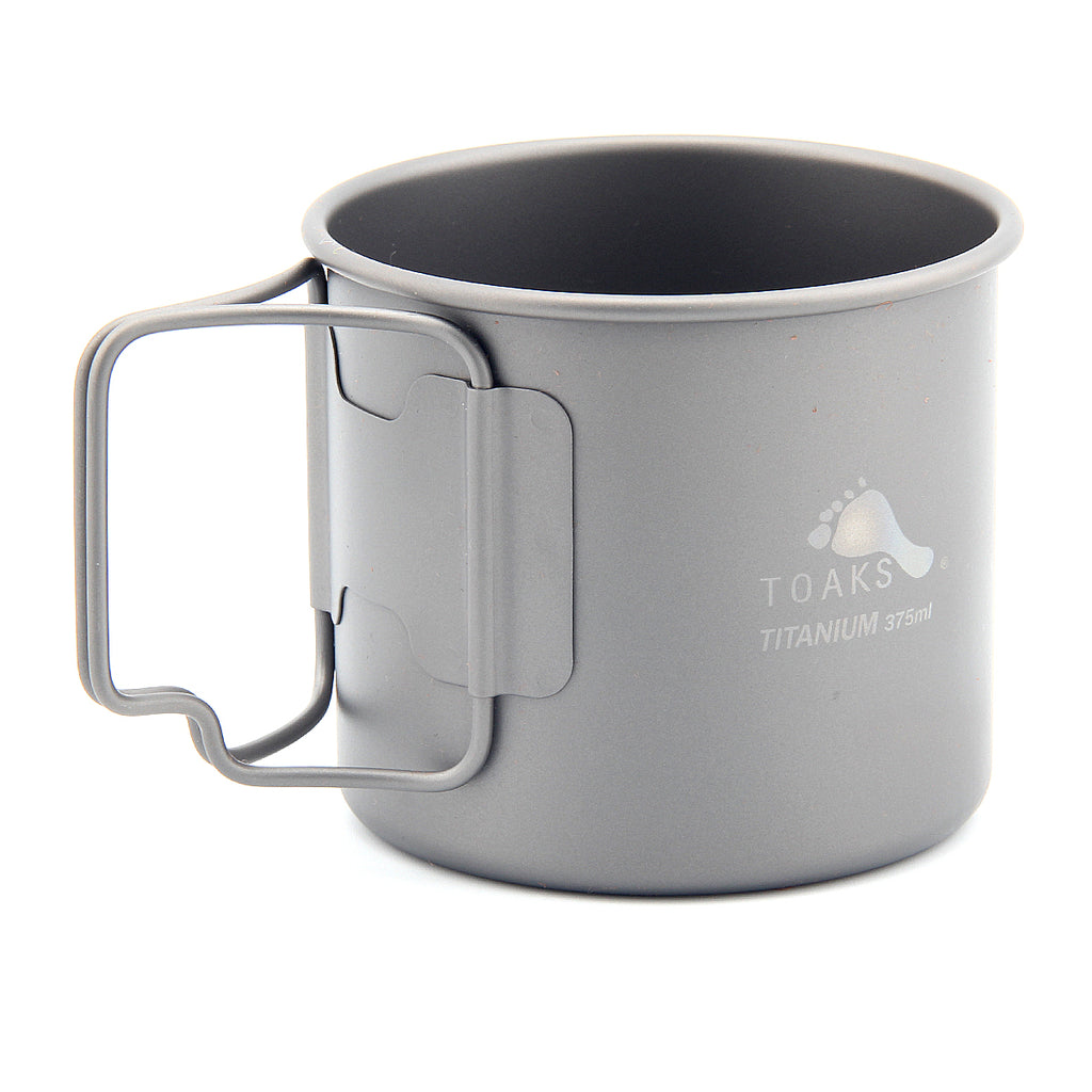 TOAKS CUP-375 375ml Titanium Coffee Mug Camping Lightweight Water Cup