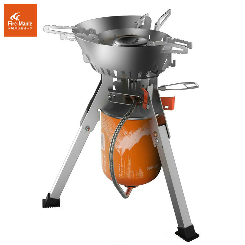 Fire maple quality goods the new 108 burners Fire maple Titan camping gas stove Outdoor power support stoves