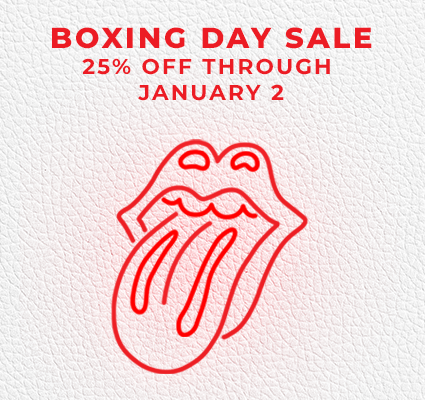 25% OFF THROUGH JAN 2! NO CODE NECESSARY. Rolling Stones