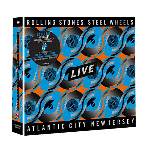 Steel Wheels Live Blu-Ray & 2CD