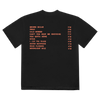 Sticky Fingers Tracklist Black T-Shirt
