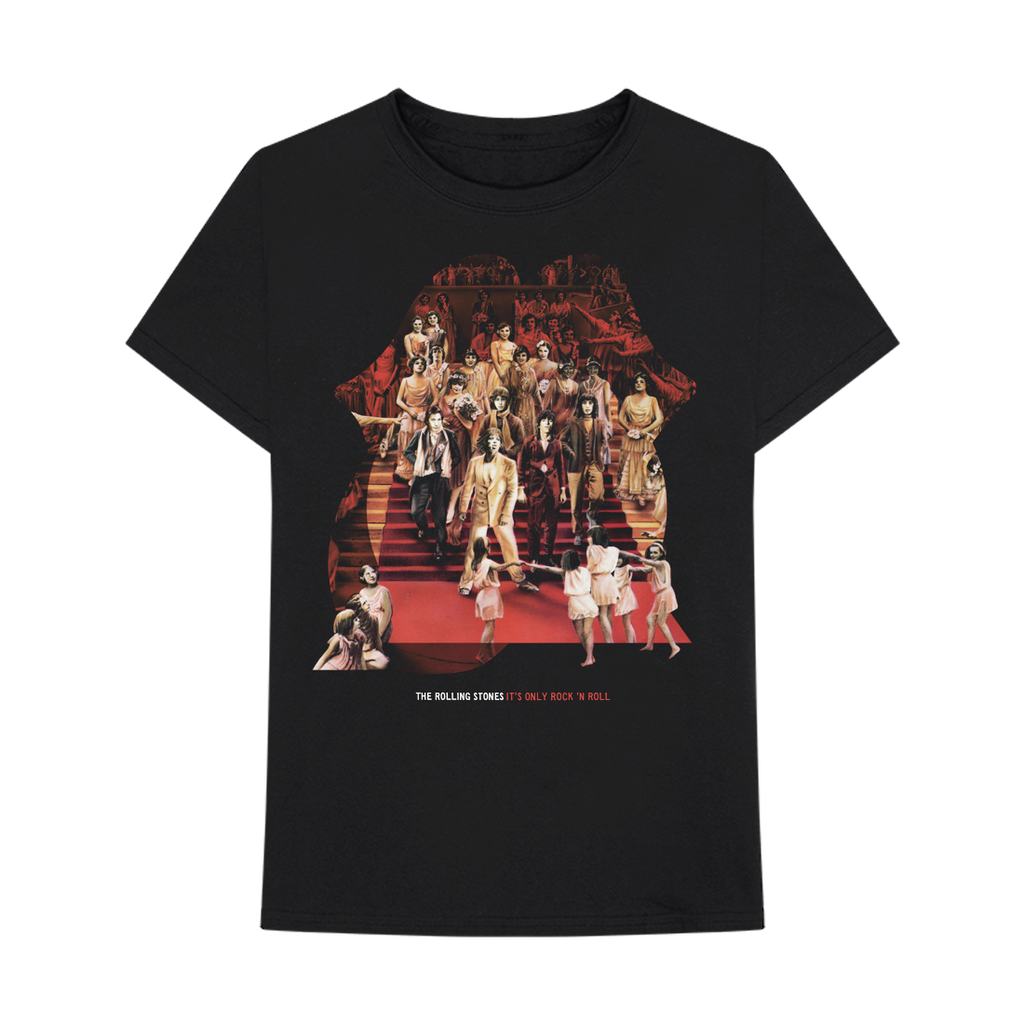 Its Only Rock N Roll Collage T Shirt The Rolling Stones