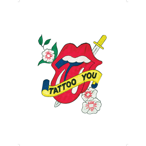 Tattoo You Tongue 1981 Lithograph