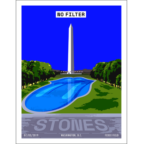 Washington D.C. Lithograph