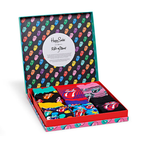 Rolling Stones Happy Socks 6 Pack Box Set