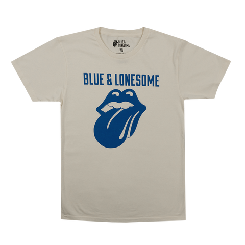 72 Logo Blue & Lonesome White Tee