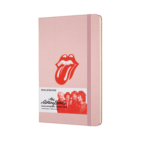 Limited Edition Moleskine Pink Ruled Notebook