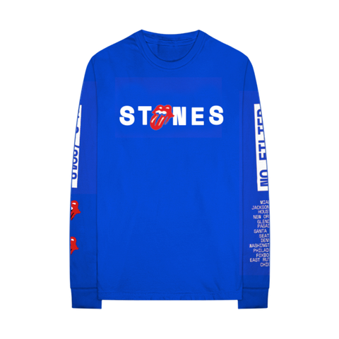 2019 No Filter Art Blue Longsleeve Shirt