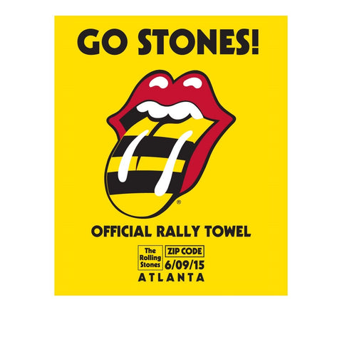Rolling Stones Atlanta Event Rally Towel