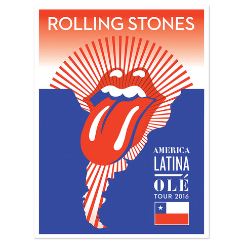RS Chile Lithograph