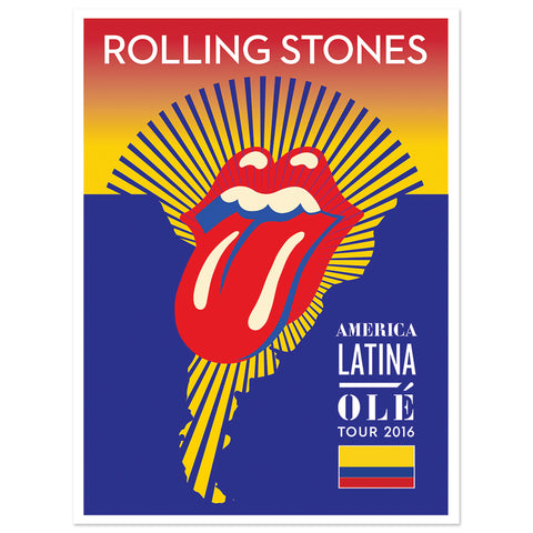 RS Colombia Lithograph