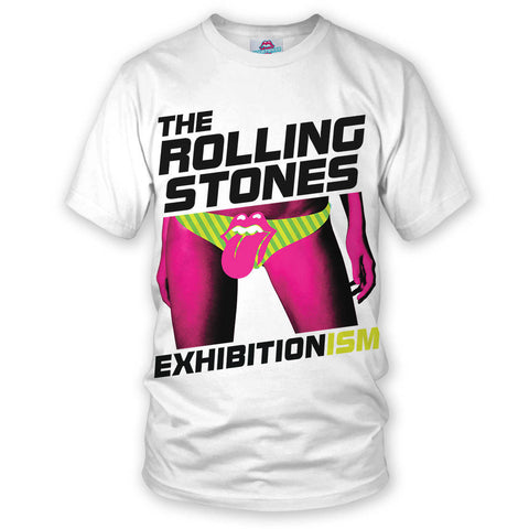 Exhibitionism White T-Shirt