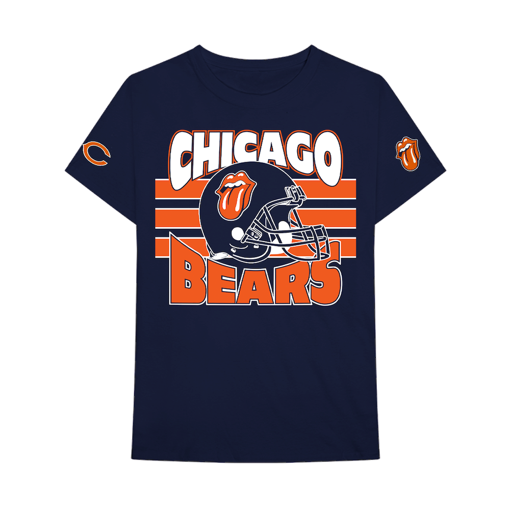 new style 381d6 b1661 Chicago Bears Navy T-Shirt