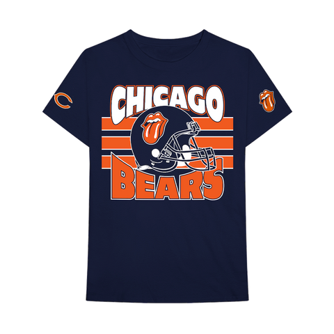 Chicago Bears Navy T-Shirt