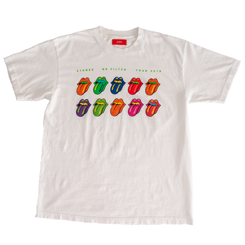 Stones x Lucien Smith White T-Shirt